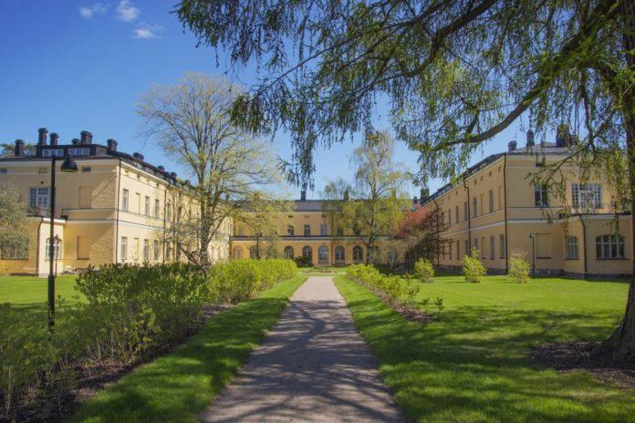 Historiska sjukhusbyggnaderna i Lappviken. Bild: Melissa Aalto