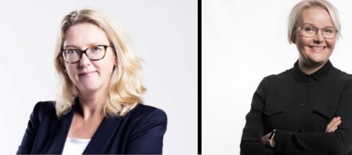 Emilia Kullas och Ninni Myllyoja